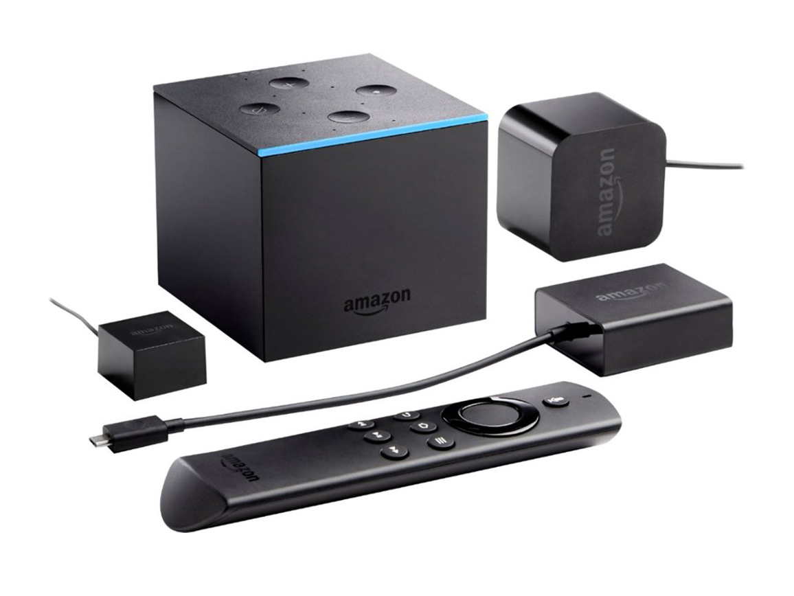 Amazon Fire TV Cube. Медиаплеер
